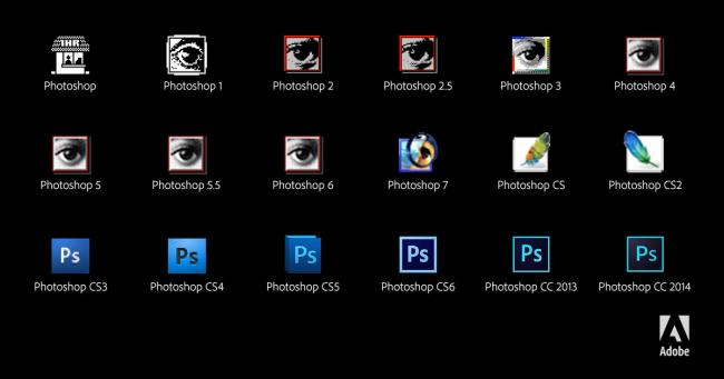 650_1000_photoshop_icons_through_the_years