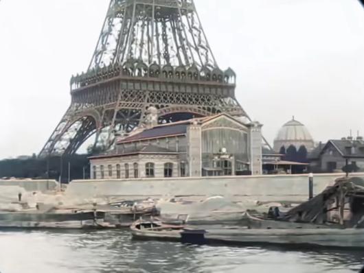 «Un viaje por el París de 1890» restaurada a 4K y 60 FPS